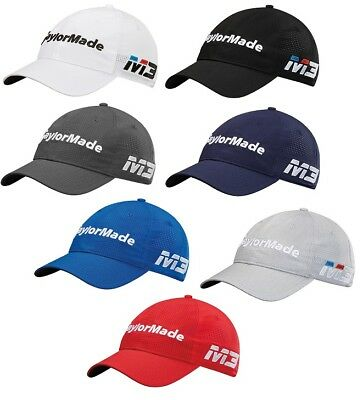 Taylormade Golf Litetech Tour Hat M3 Mens Adjustable Cap- New 2018- Pick Color!