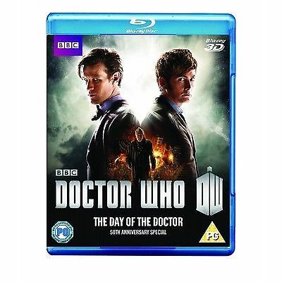 Doctor Who - The Day Of The Doctor - 50th Anniversary 3D Blu-ray New & Sealed