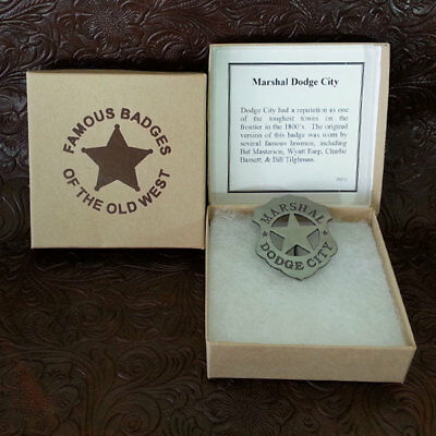 Wyatt Earp Marshall Badge