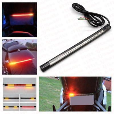 Flexible Motorcycle 48 LED Strip Rear Tail Brake Stop Turn Signal Lights Lamps a