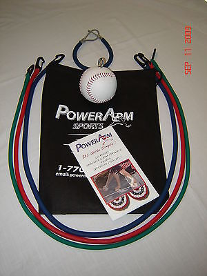 Baseball (Full Set) Pitching Throwing Practice Trainer 8 YOA - Adult,  PowerArm