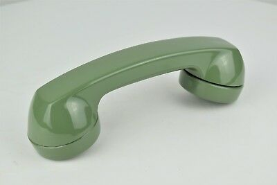 Antique Vintage Western Electric NOS G Handset -Complete- Moss Green - 24964