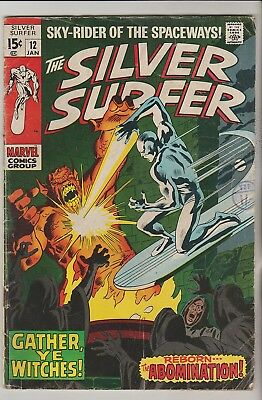 *** Marvel Comics Silver Surfer #12 G+ ***