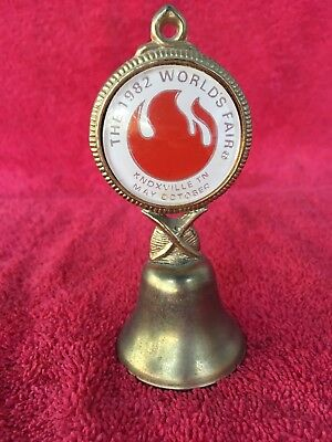 Old Vintage KNOXVILLE TENNESSEE 1982 Worlds Fair Souvenir Bell