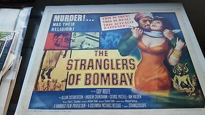 The Stranglers Of Bombay Movie Poster