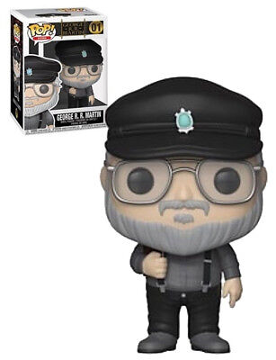 Funko Pop ! George R.R. Martin  01 ICONS - Game of Thrones - Television