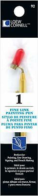 Fine Line Painting Pen Leow-Cornell Artist Pack Draw Write Tool Art Metal Draws.