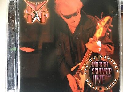 MSG MICHAEL SCHENKER GROUP - Live Unforgiven World Tour 1999 2 x CD Exc Cond 2CD