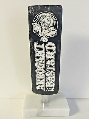 """Stone Brewing Arrogant Bastard Ale Beer Tap Handle NEW In Box - 8"""" Tall"""