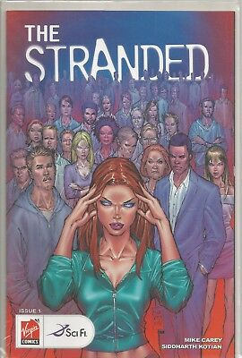 THE STRANDED: 1-5 (Complete!) (Mike Carey) (Virgin Comics / Sci-Fi Channel) 2007