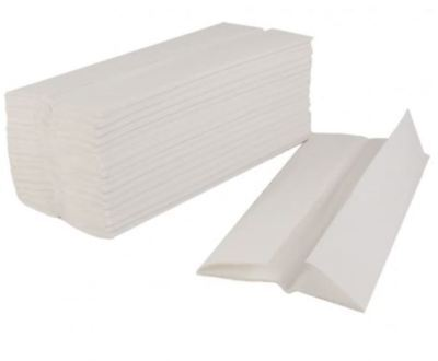2520 Soft White C Fold Paper Hand Towels Tissues Sheets 1 Ply