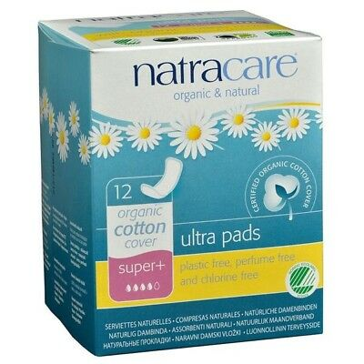 Natracare - Natracare Natural Ultra Super Plus Pads 12 count 221511 OC SD