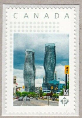MARILYN MONROE Buildings = Mississauga = postage stamp MNH Canada 2017 p17-01s1