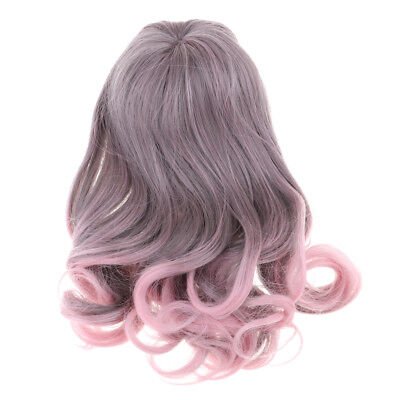 BJD Dolls Full Wig 9-11 inch Curly Hair For 1/3 DZ DOD LUTS Long Curled Hair