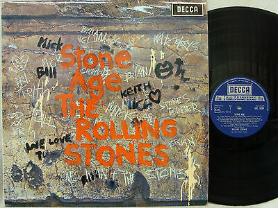 THE ROLLING STONES - Stone Age LP (RARE UK Import on DECCA w/Laminated Cover)