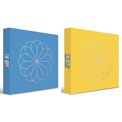 THE BOYZ BLOOM BLOOM 2nd Single Album 2 Ver SET+Book+Pop-up+Sticker+Letter+Card