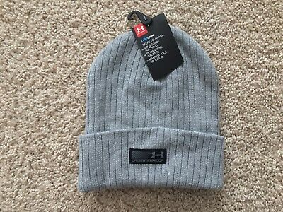 0e86f3c2a NEW UNDER ARMOUR Truck Stop Beanie Knit Hat men gray 1283122
