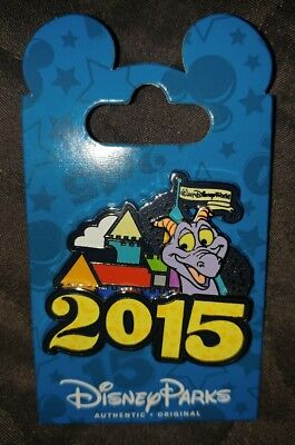 Walt Disney World 2015 Cinderella Castle Figment Dragon Trading Pin Parks new