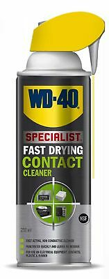 WD-40 Fast Drying Contact Cleaner Specialist 44716 250ml NEW FREE P&P
