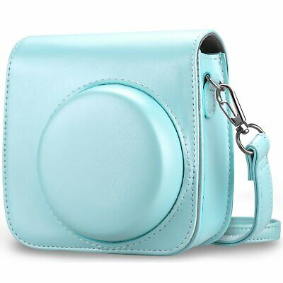 For Fujifilm Instax Mini 8 Mini 8+ Mini 9 Instant Camera Bag Case Cover w/ Strap