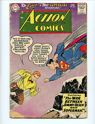 Action Comics 253 Super Jimmy and 2nd Supergirl!