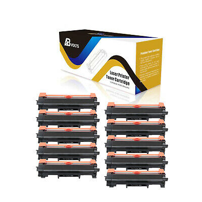 ABvolts Compatible 10X TN730 No Chip Toner Cartridge For Brother DCP-L2550DW