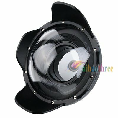 Seafrogs WA-4 Fisheye Wide Angle Lens Dome Port For Canon EOS M3 Housing Case