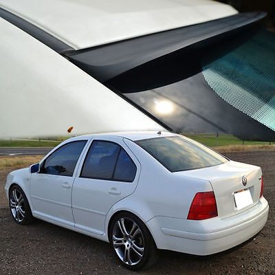 VW Volkswagen JETTA MK4 4DR REAR ROOF WINDOW VISOR SPOILER 99-04