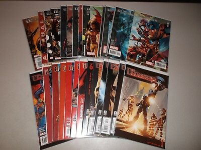 The Ultimates #1-13 + v2 #1-13 (Lot of 28) Annuals #1-2 (Marvel Comics)