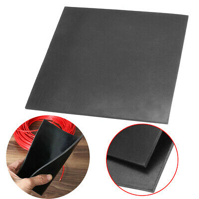 "152*152*3mm 6""x6""x1/9"" Square Rubber Sheet Chemical Resistance High Temperature"