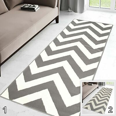 New Small X Extra Large Hallway Runners in Grey White Cream Runner Rug for Hall