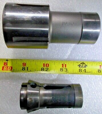 "BROWN & SHARPE BS 11C COLLET CHUCK SLEEVE with Hardinge 11C 3/4"" Diameter Collet"