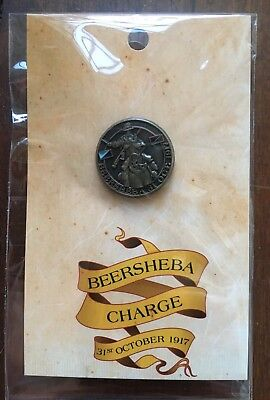 BEERSHEBA CHARGE 31st October 1917 Badge - Lapel Pin - WW1 The Great War ANZAC