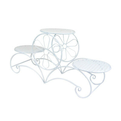 CAKE STAND ORNATE THREE TIER  - White, Gold or Black | Display Stand