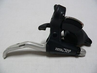 Comando cambio destro Shimano Deore XT ST-737 right shifter brake lever 8spd mtb