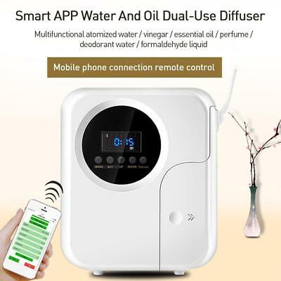 Wall-mounted Air Freshener Fragrance Spray Dispenser Machine Remote Control