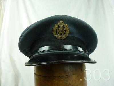 1954 Dated RAF Royal Air Force Other Airmen Peaked Service Cap / Hat 55cm