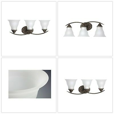 Vanity Light Glass Shades Adjustable Steel Light Weight Durable Weather Proof