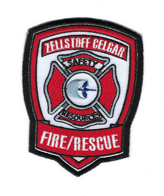 Zellstoff Celgar BC British Columbia CANADA Safety Resources Fire Rescue patch