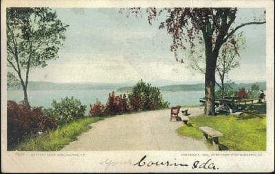 Battery Park, Burlington, VT - mailed 1906