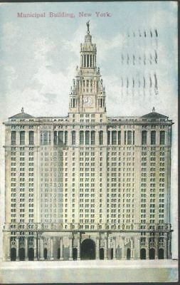 Municipal Building, New York City - mailed 1912