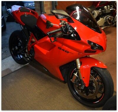 """***2014 Ducati 848 """"evo"""" - Just 1,900 Miles! Immaculate & Lots Of Extras***"""