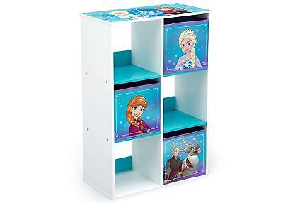 Delta Children Disney Frozen 6 Cube Oragniser, Kids Storage Unit & Toy Chest