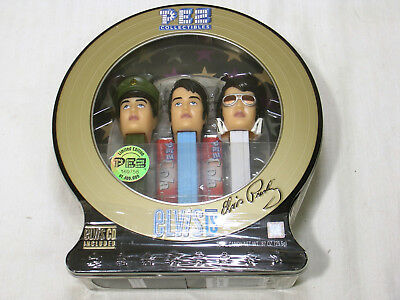 PEZ Sealed Elvis Presley Gift Pack # 914 Candy Dispensers Limited Edition w/ CD