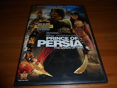 Prince of Persia: The Sands of Time (DVD, Widescreen 2010) Jake Gyllenhaaal NEW