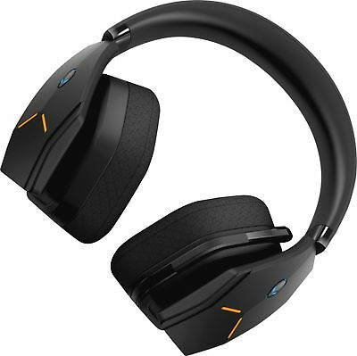 Alienware - Wireless Wired Stereo Gaming Headset - Black