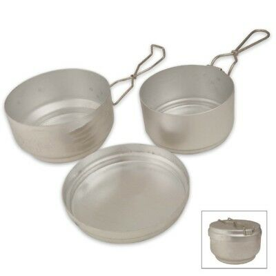 Military Survival Cooking Czech Military Surplus Aluminum Mess Kit Free Shipping
