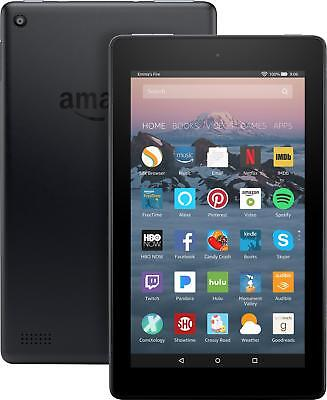 """Amazon - Fire - 7"""" - Tablet - 8GB 7th Generation, 2017 Release - Black"""