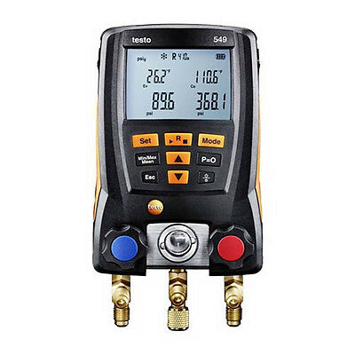 Testo 549 (0560 0550) Economy Digital Manifold, Up to 60 Profiles