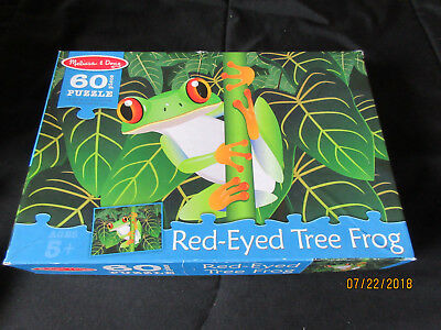 Puzzles: Melissa & Doug: Red Eyed Tree Frog: 60 Pieces